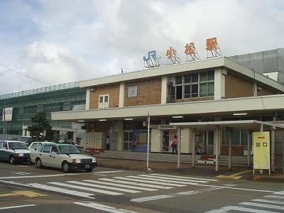高架駅建設中の小松駅-小松駅付...