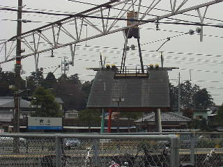 新快速でこの駅を通過しても ...